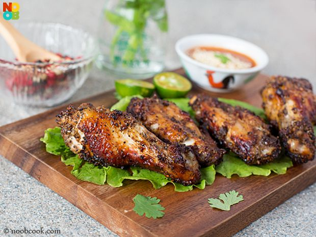 Black pepper chicken wings recipe noob cook recipes pinterest black pepper chicken wings recipe black pepper chickenchinese foodchinese forumfinder Choice Image