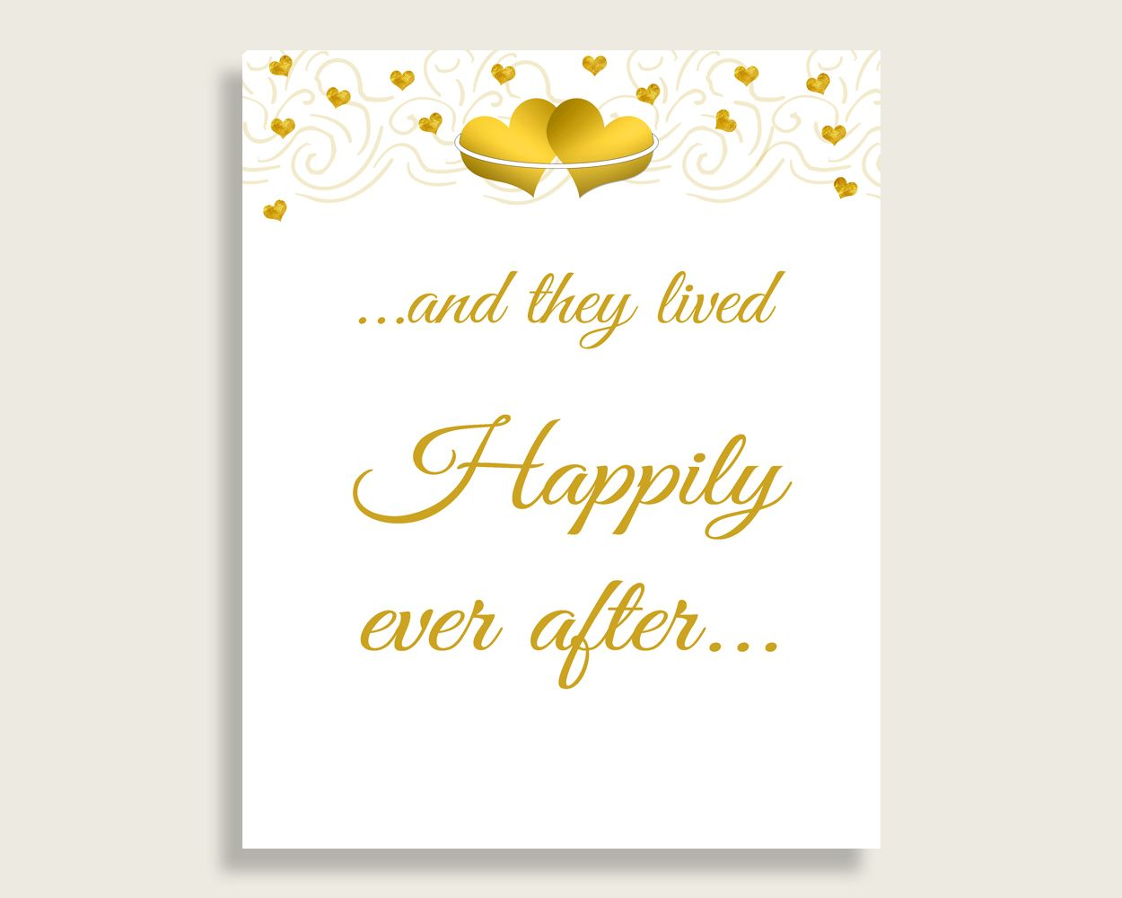 9b7545ea817 Happily Ever After Bridal Shower Happily Ever After Gold Hearts Bridal  Shower Happily Ever After Bridal Shower Gold Hearts Happily 6GQOT   bridalshower ...