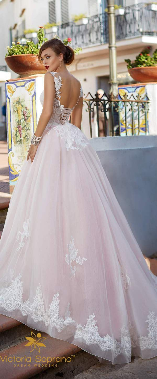 Victoria Soprano 2017 Wedding Dresses Collection Capri Wedding