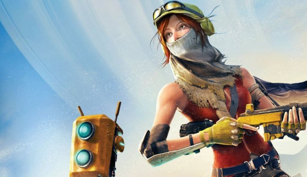 recore Robot game, Xbox one, Game art
