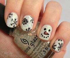 Christmas nails nails pinterest christmas tumblr christmas xmas nails prinsesfo Choice Image