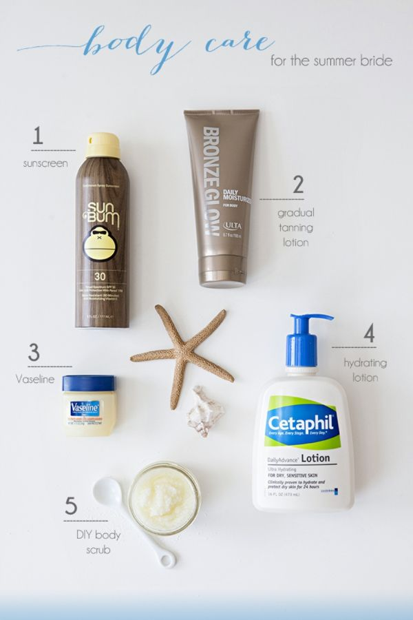 We Are Sharing Our Best Skin Tips For Summer Brides Good Skin Tips Summer Bride Body Care Routine