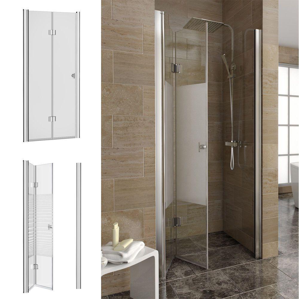 dusche nischentr nischenabtrennung falttr duschtr duschkabine duschabtrennung - Dusche Nischentur 85 Cm