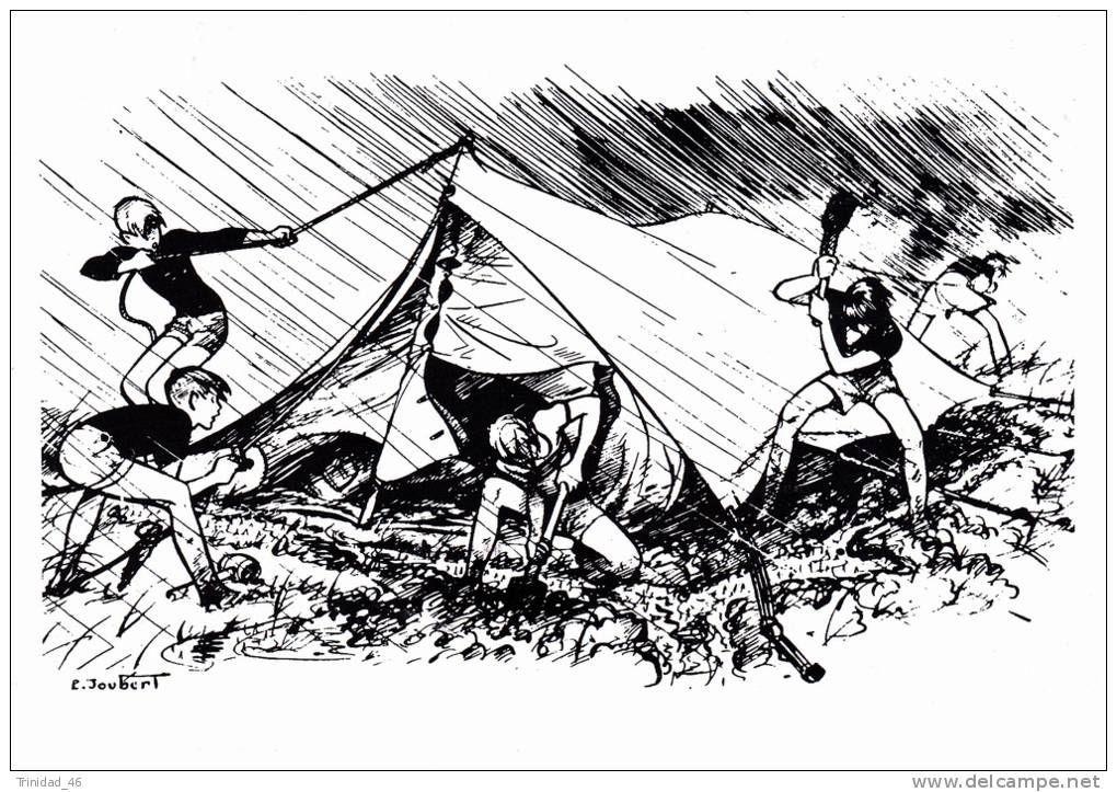 Výsledek obrázku pro scout camping pierre joubert