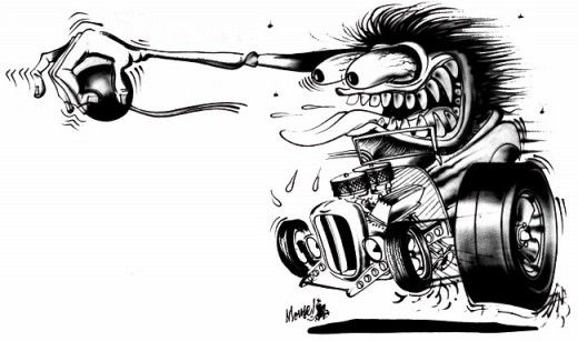 The Lowbrow Hot Rod Monster Art Of Stanley Mouse Stanley Mouse Monster Art Kustom Kulture Art