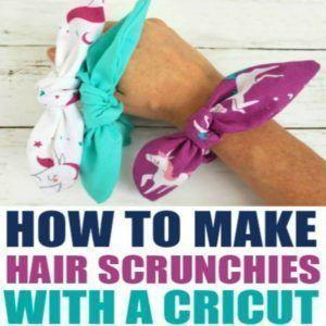 Wenn Sie sich jemals gefragt haben, wie man Haargummis näht oder wie man …