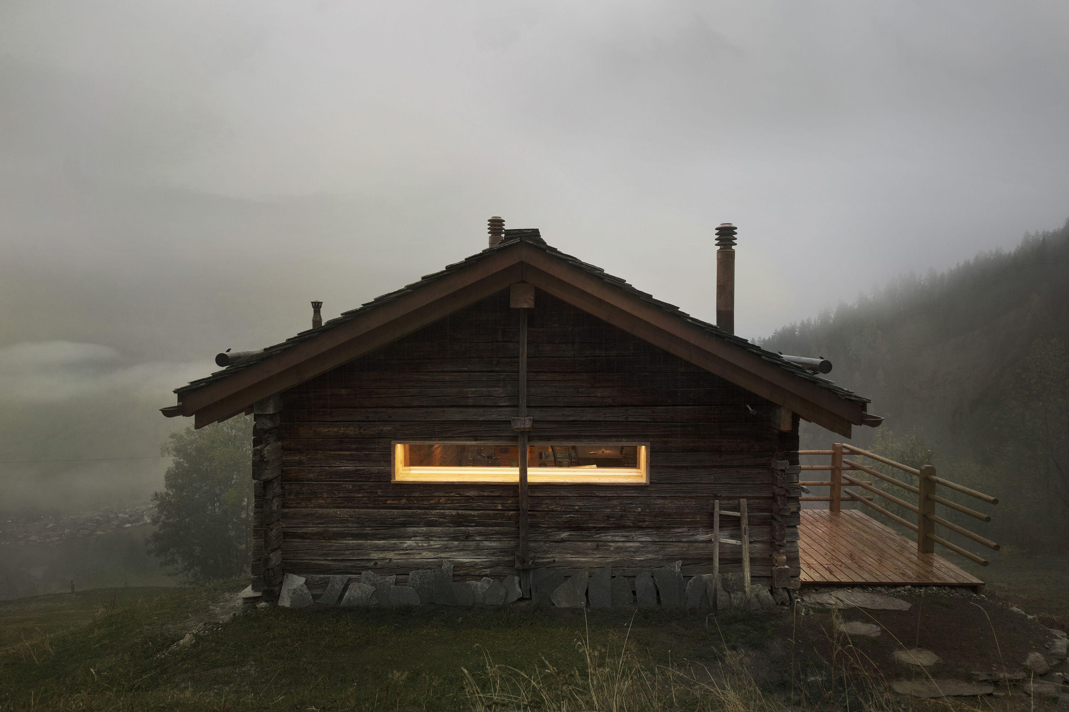 Le Mayen De Bruson Ferienhaus Alpen Architektur Ferienhaus