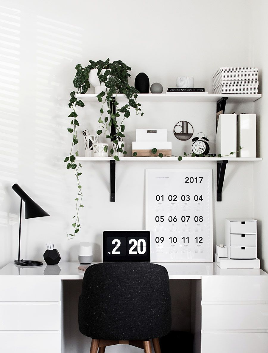 Desk Organization Updates Homey Oh My Soho Home Office Study Room Work Ideas Homeyohmy Via Sunjayjk Homeoffice Studyroom