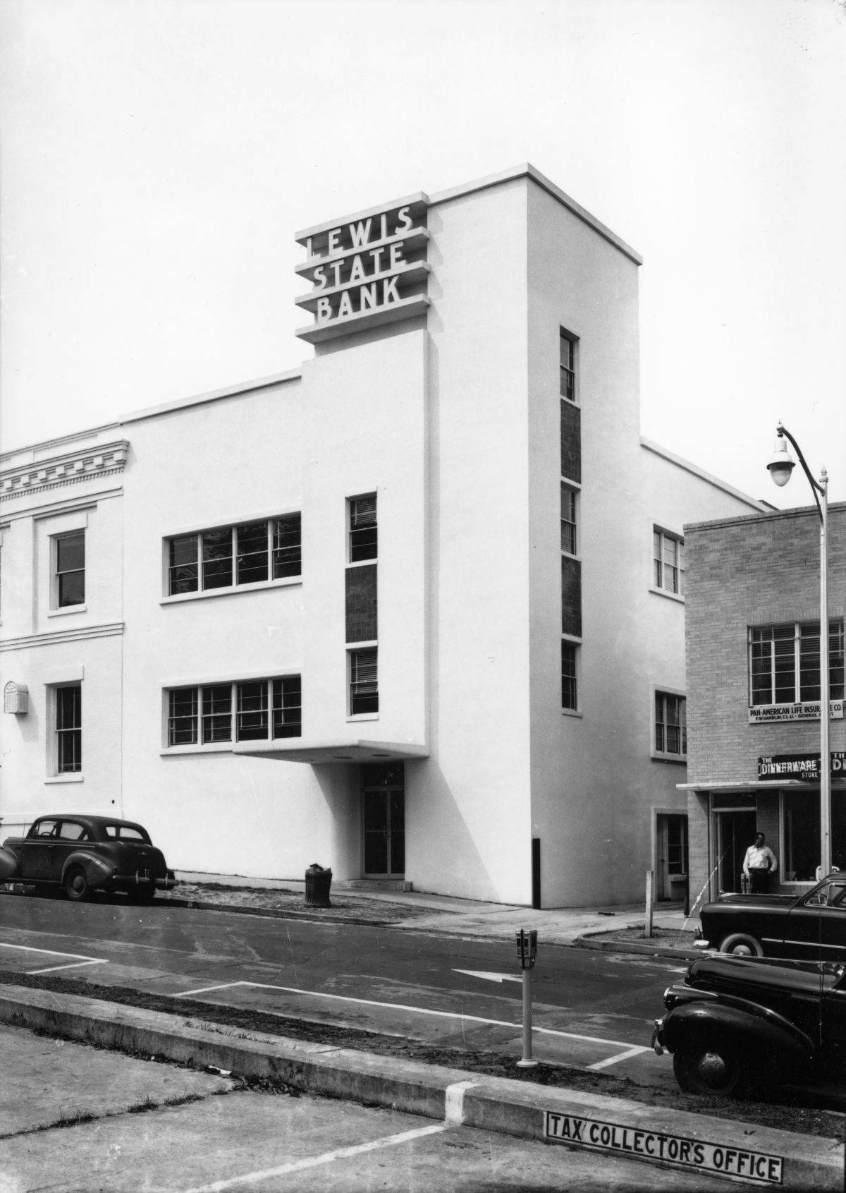 The Lewis State Bank Building In Tallahassee Florida 1950 Photo By Slade Florida Memory Tallahassee Banks Building Florida