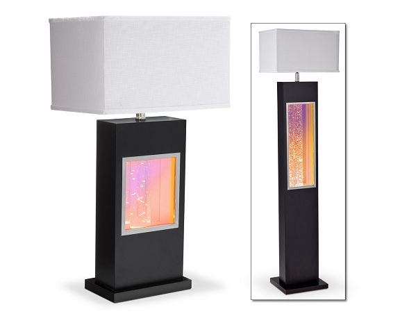 Black Glitter Lighting Collection   Value City Furniture Table Lamp $189.99