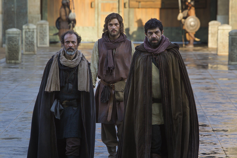 Marco Polo - Marco and Niccolò Polo with Maffeo Polo | Marco Polo ...