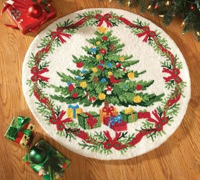 Round Christmas Rugs Area Large House Decor Ideas