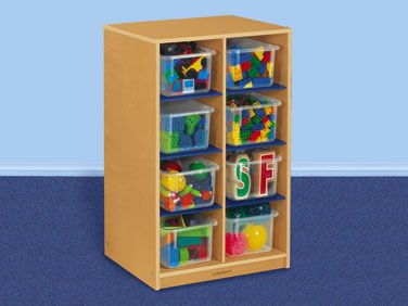 Incroyable Classic Birch 8 Cubby Storage Unit This Space Saving Unit Provides  Organized Storage Anywhere