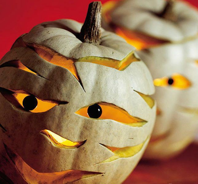 Perfect Love This DIY Mummy Halloween Pumpkin Idea. Nice Look