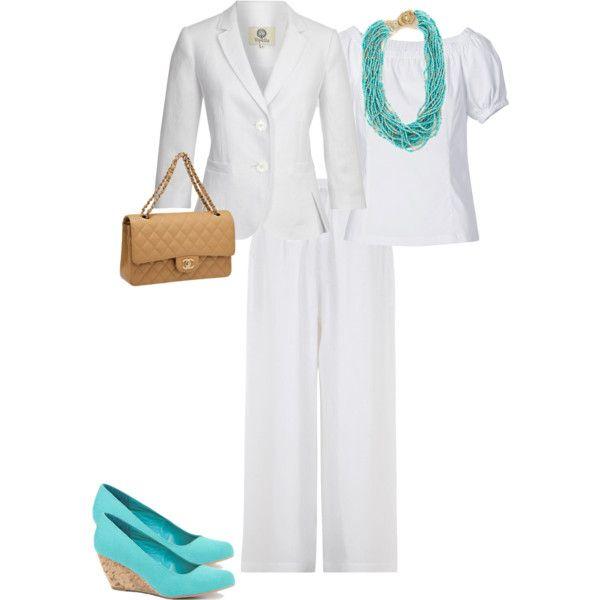 white, turquoise