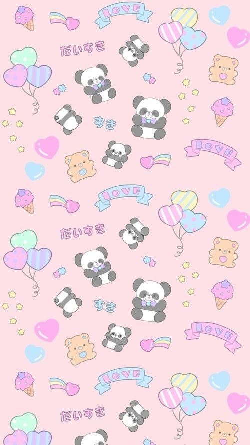 Animals Art Background Bears Beautiful Beauty Cartoon Cute Animals Drawing Fashion Fashionable Ill Nerdy Wallpaper Kawaii Wallpaper Panda Wallpapers