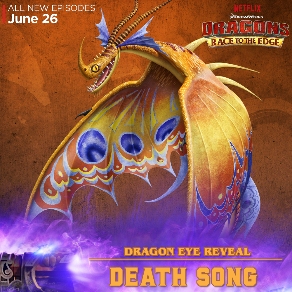 New 'dragons: Race To The Edge' Clip Gives Us The Death Song Http · Httyd
