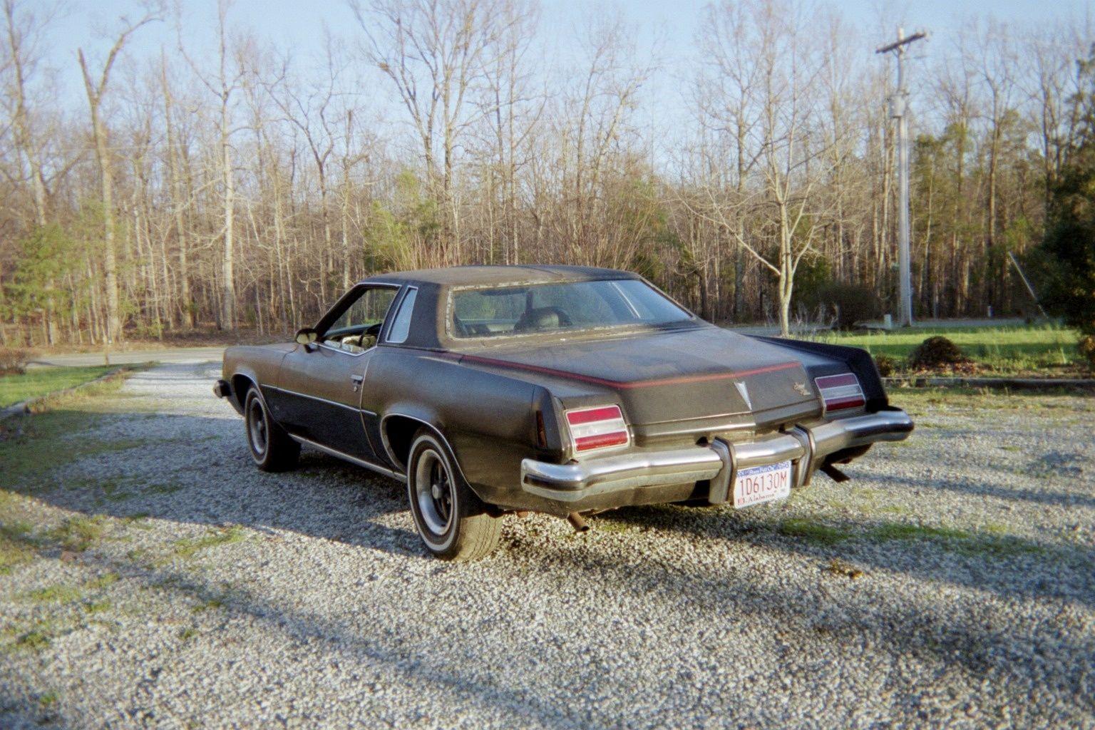 1973 pontiac grand prix sj in starlight black 455 4 y
