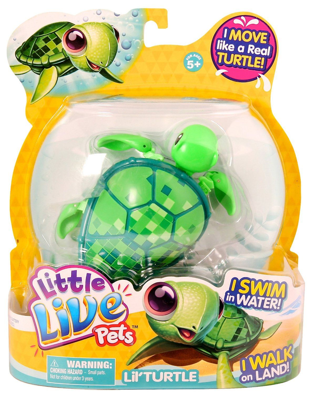 Little Live Pets Lil' Turtle Jules the Treasure Turtle