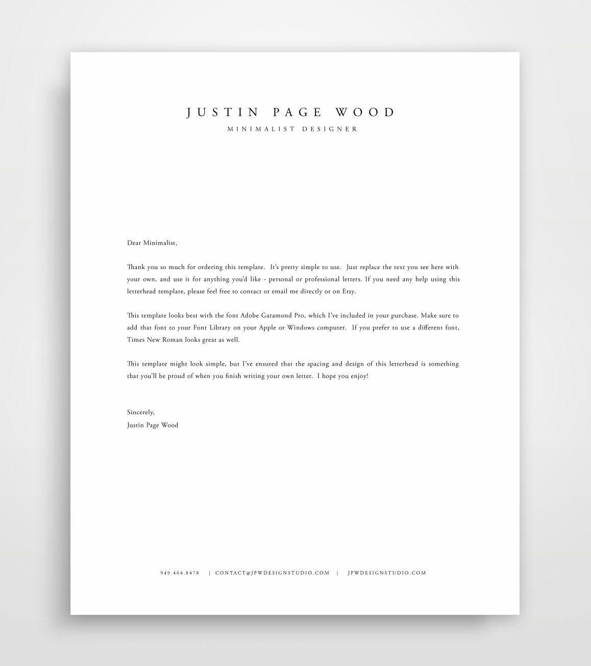 Letterhead Template Word, Letterhead Design, Templates Free, Design  Templates, Cover Letter Resume, Design Studios, Illustrator, Home Design,  Fonts  Free Personal Letterhead Templates Word