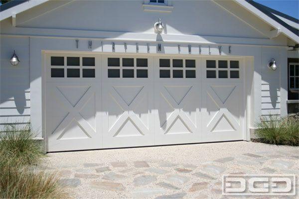 Carriage House Garage Door Or Barn Garage Door A Little Bit Of Both Creativity Is Our Specialty Garage Door Styles Garage Door Design Barn Style Garage Doors