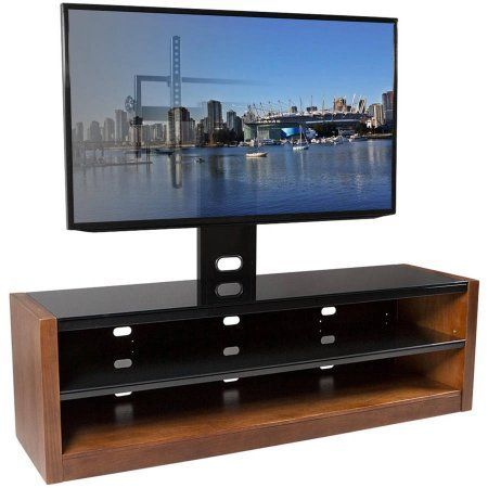 Kanto Mesa 64 Plus Tv Stand With Tilt And Swivel Mount For Displays