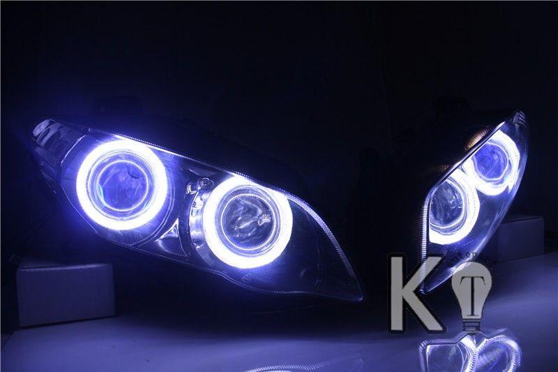 Yamaha Yzf R1 Angel Eye Hid Projector Custom Headlight