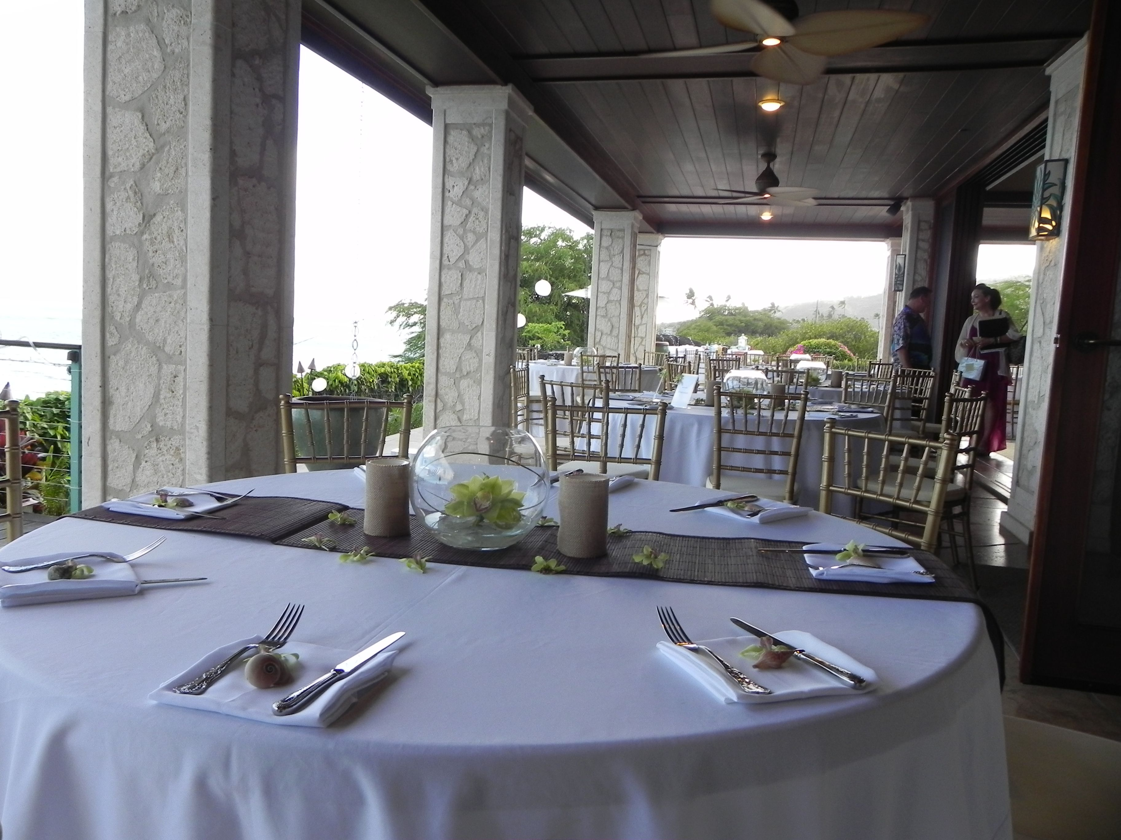 North beach plantation weddings  Paiko Kai Estate set up we did for a wedding Planned by Tori Rogers