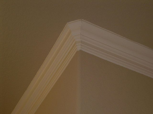2 Step Crown Moulding Please Share Repin And Like Thanks