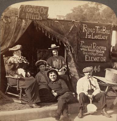 Refugees of the San Francisco Earthquake, 1906