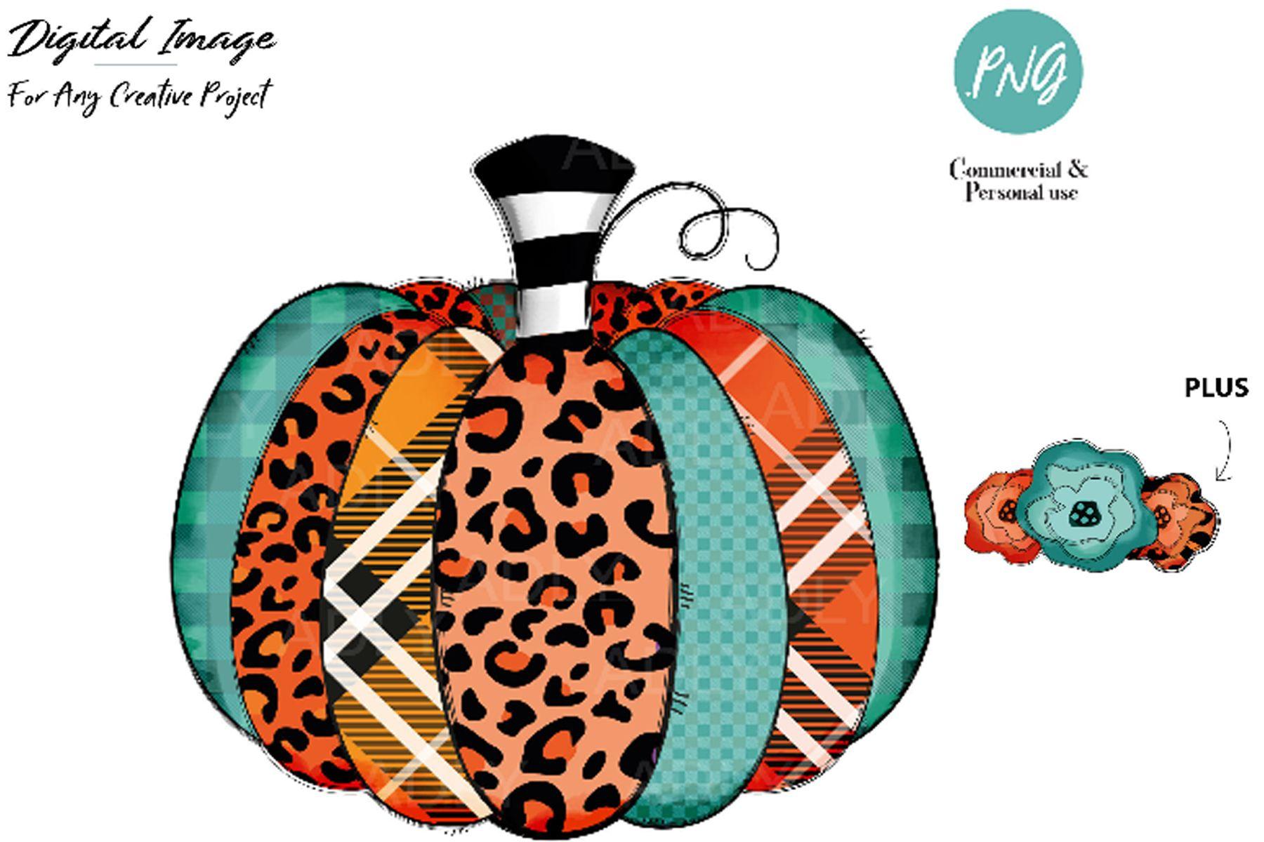 Pumpkin Sublimation,pumpkin HTV Transfer (Graphic) by
