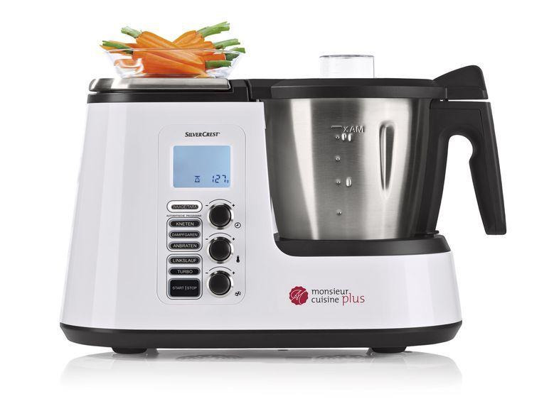 SILVERCREST® Küchenmaschine mit Kochfunktion Monsieur Cuisine Plus - k chenmaschine mit kochfunktion