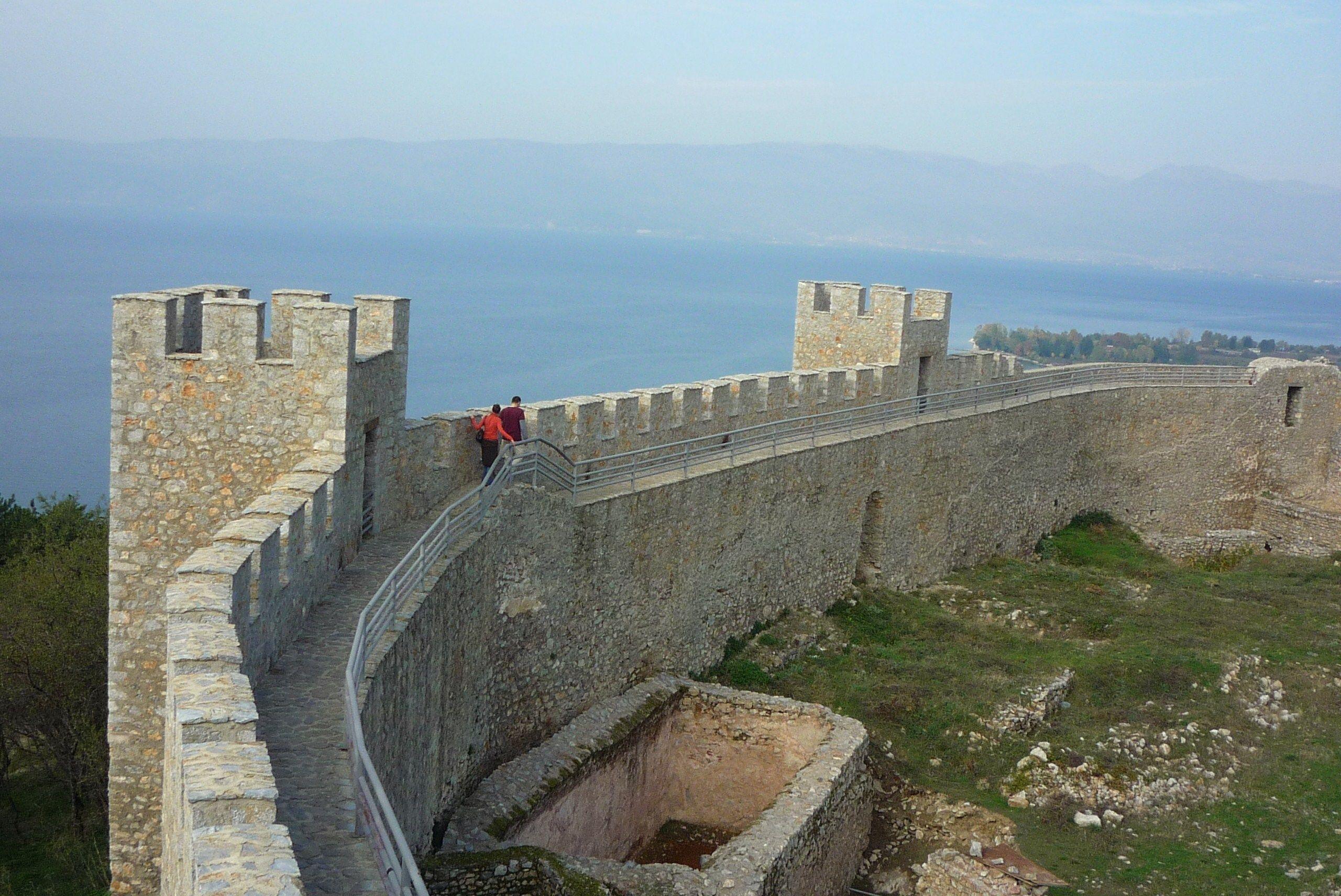 King Samuil Castle Ohrid