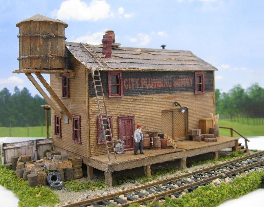 HO Scale for Sale - MODEL TRAIN STRUCTURES # ...