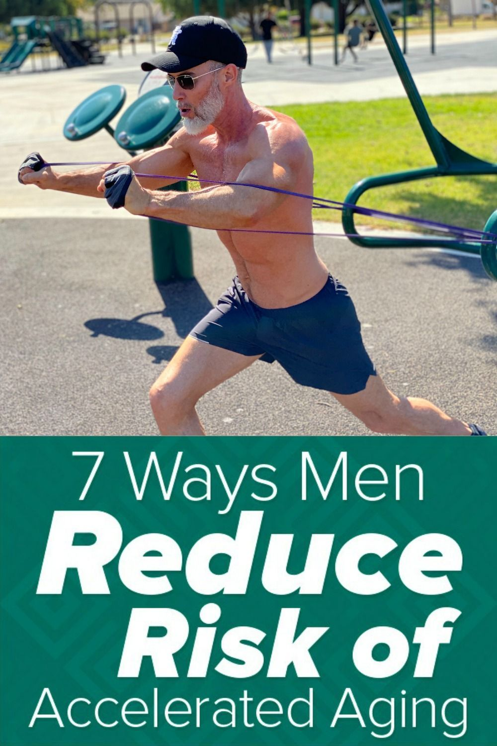 Why age faster than is necessary? Remain strong and potent! Click-through to see the 7 ways that men...