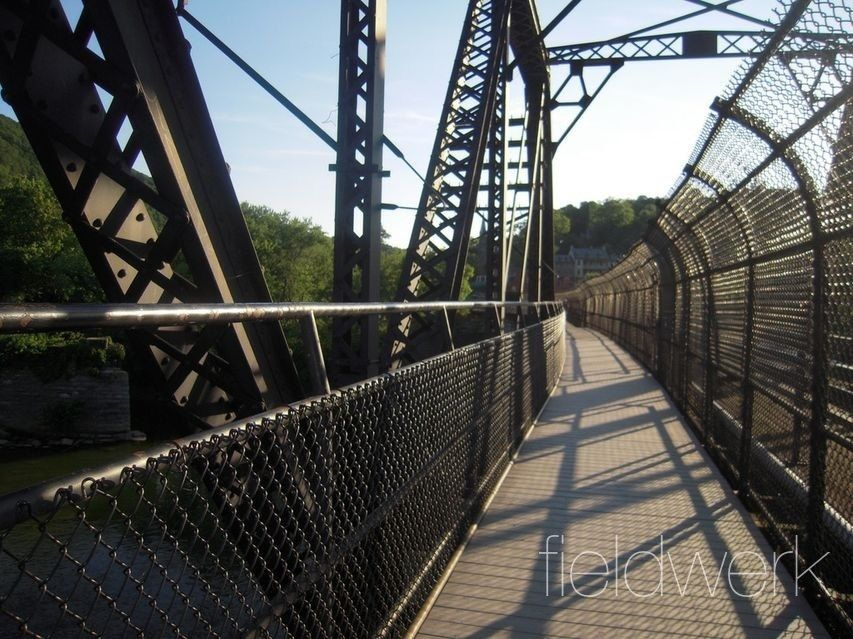 The Appalachian Trail Crossing Harpers Ferry Wv