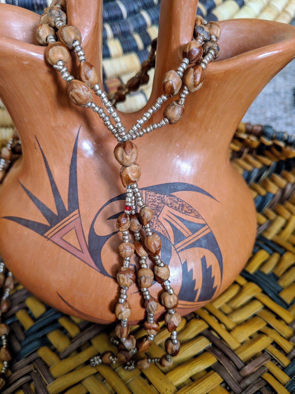 Hopimade authentic native american ghost bead juniper