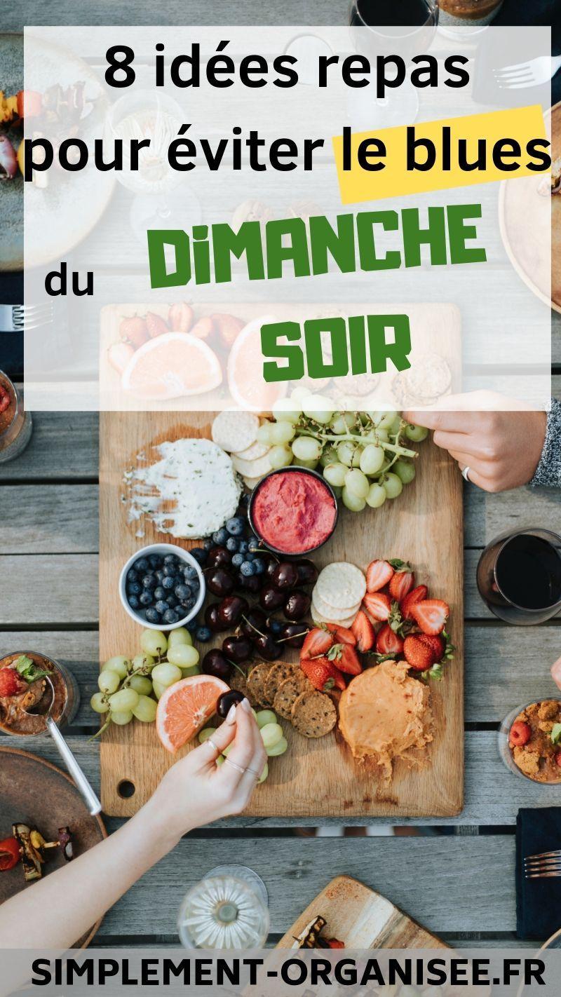 Idée Repas Du Dimanche.8 Idées Repas Pour Le Dimanche Soir Cuisine Idee Repas