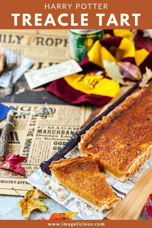 Harry Potter S Favourite Treacle Tart Imagelicious Com Recipe Treacle Tart Favorite Desserts Tart