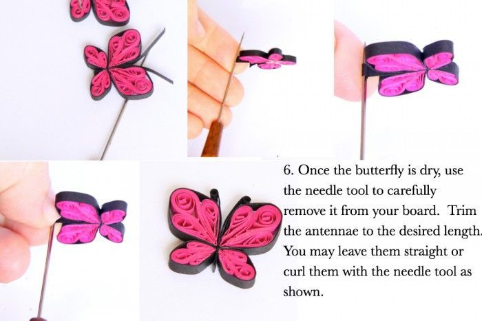 How To Make Paper Quilled Butterflies Guest Post Quilling