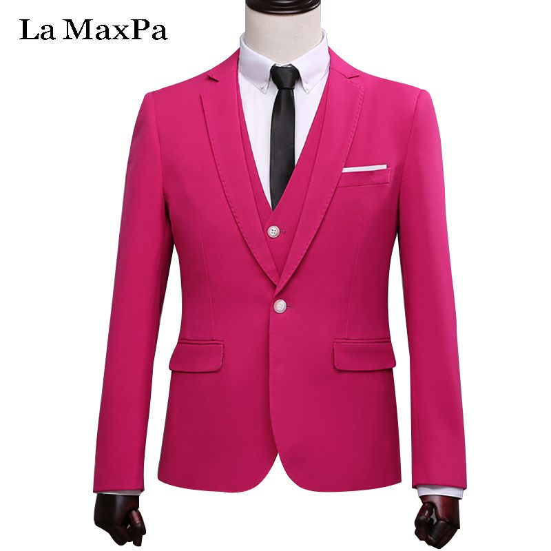 LA Maxpa (jacket+pants+vest) New brand men suit wedding suit for man ...