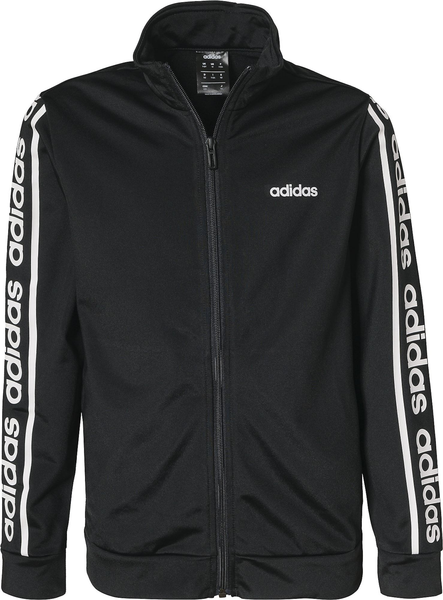 trainingsanzug adidas schwarz weiß