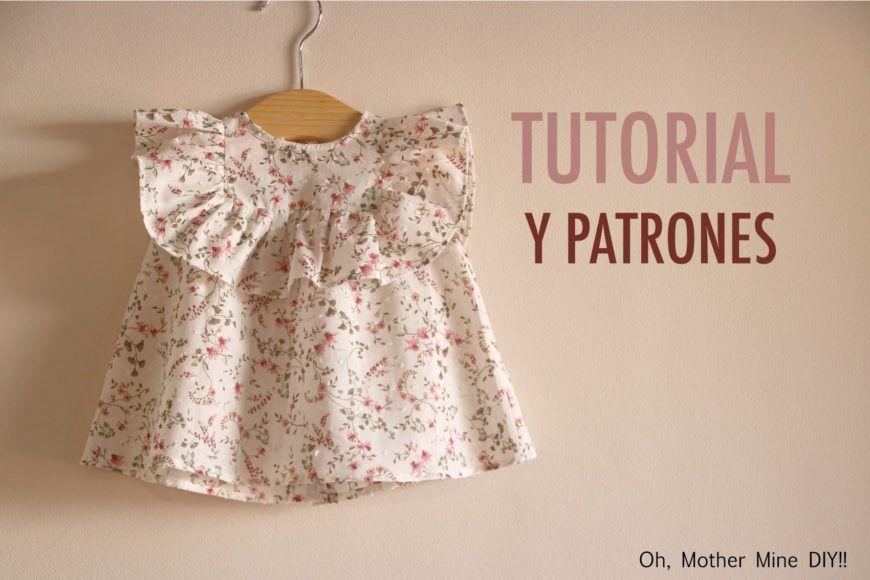 Conjunto blusa y falda parte 2  aprender a coser la blusa (patrones gratis) 89136d2ec7d