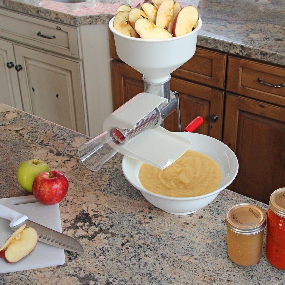 Food strainer sauce maker tomato apple fruit processing