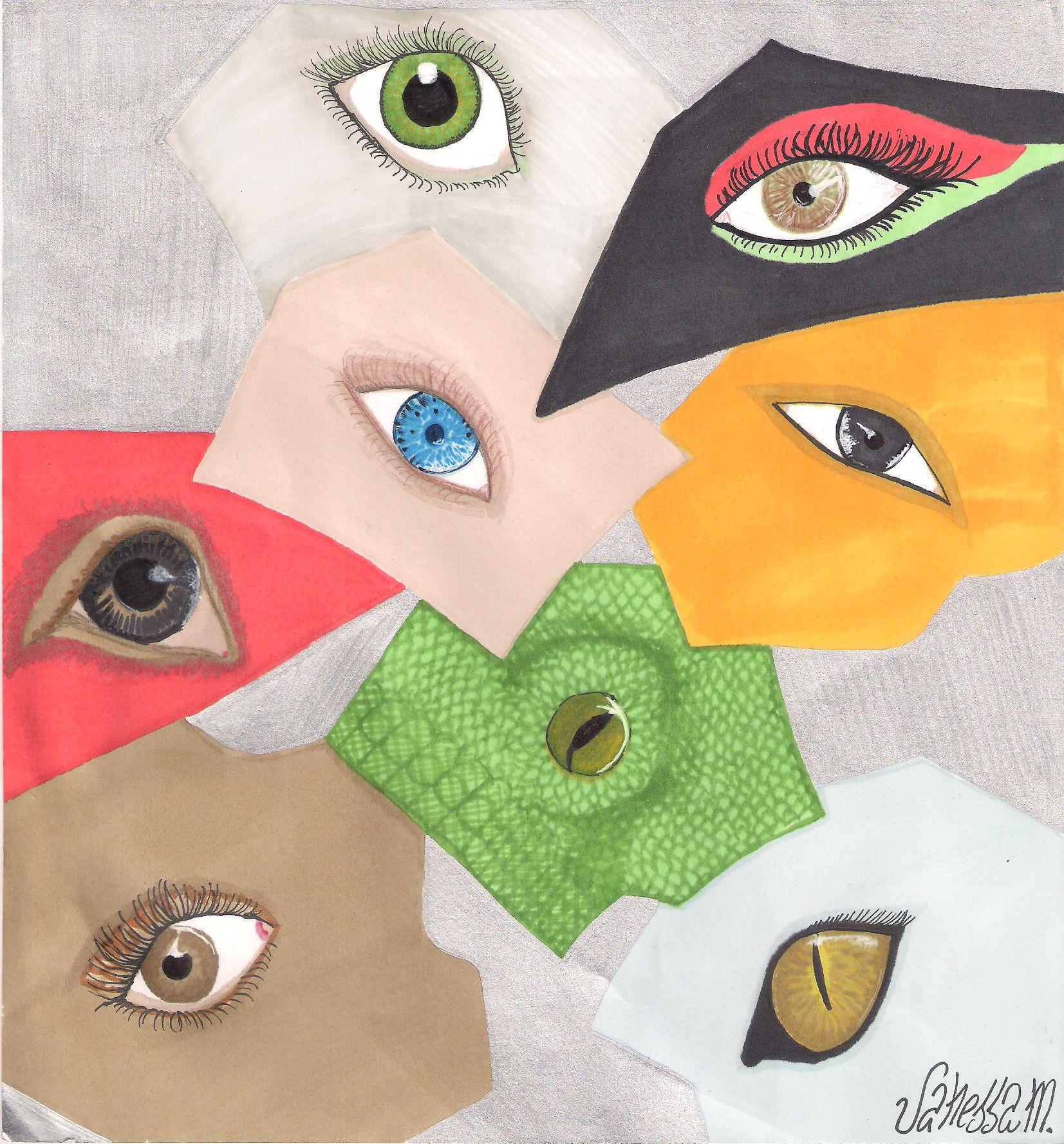 Eyes by eyes Dibujo promarker