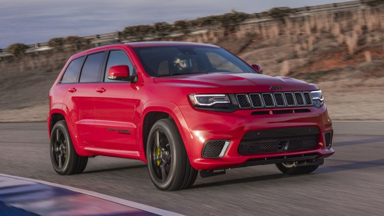 2018 Jeep Grand Cherokee Trackhawk Photo Gallery Jeep Grand