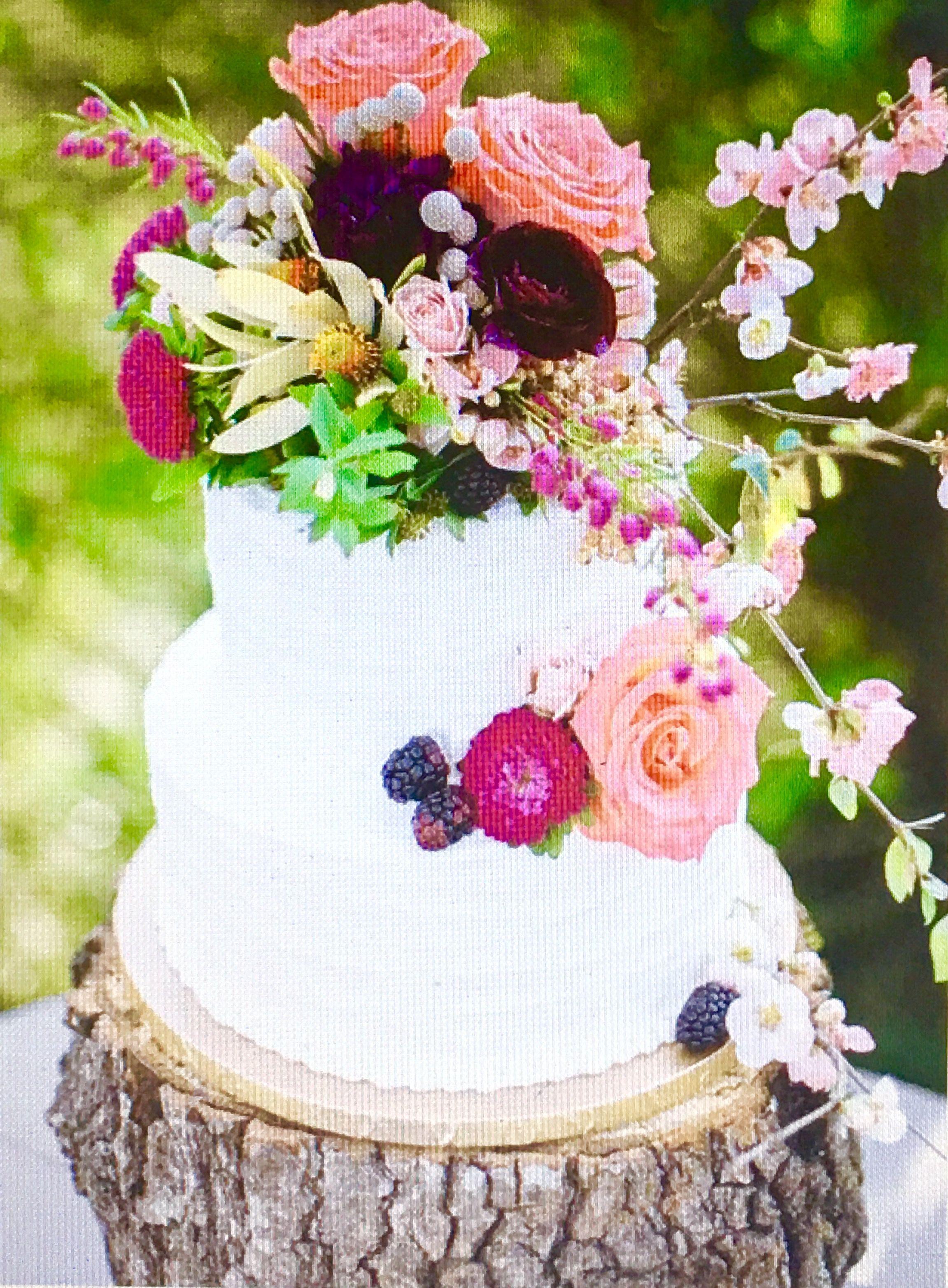 Romantic Rustic Cake 2016