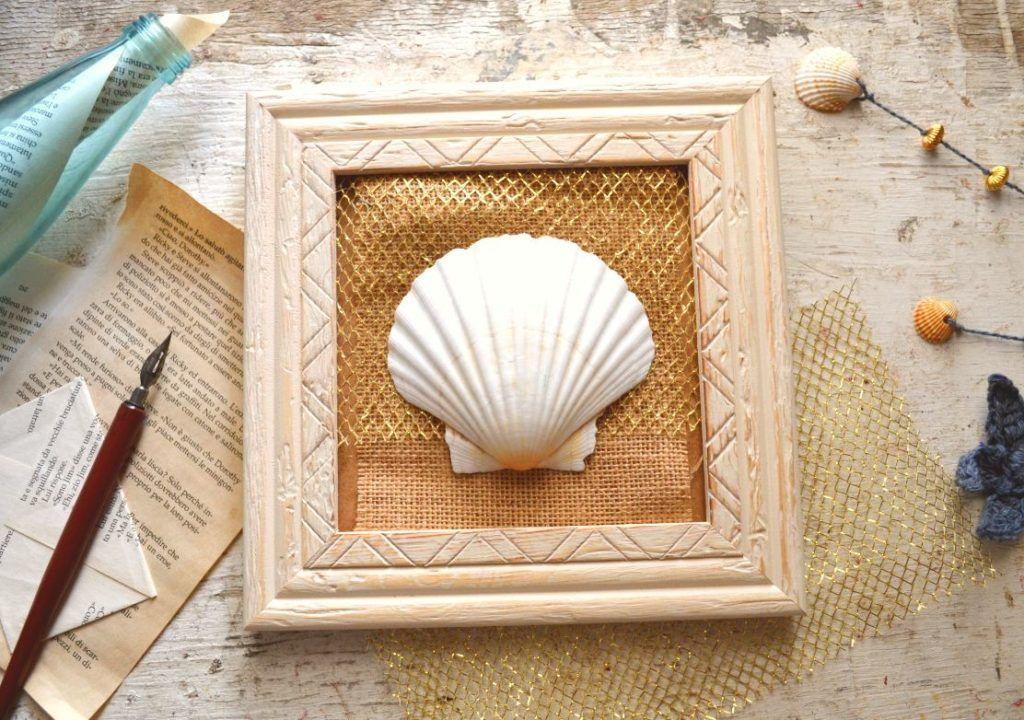 Come realizzare un quadro in stile marino Cornici