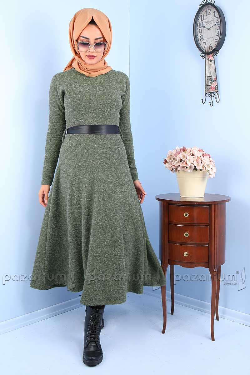 Pazarium Com Tr Adli Kullanicinin Tesettur Elbise Modelleri Panosundaki Pin Elbise Modelleri Elbise Kadin