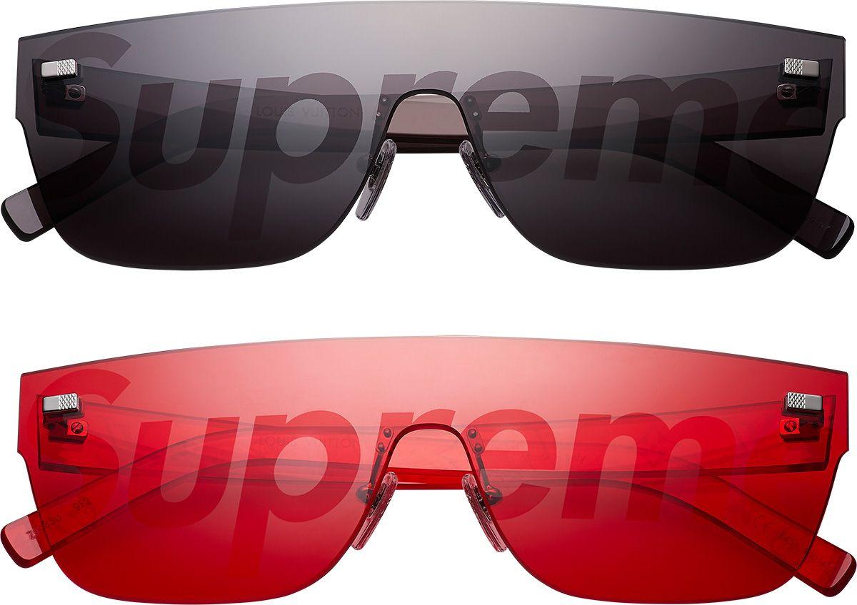 e07c9454b5 Supreme Louis Vuitton Supreme Jacquard Denim N-3B Parka Louis Vuitton  Glasses